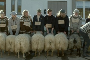 "A scene from Grimur Hakonarson's ""Rams"""