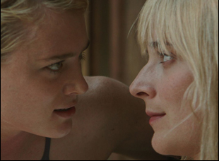 "Mackenzie Davis and Caitlin Fitzgerald in ""Always Shine"""