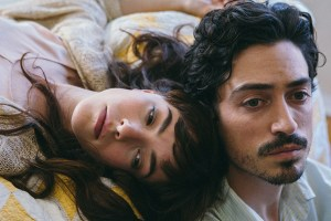 "Olivia Thirlby and Ben Feldman in ""Between Us"""