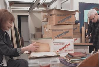 "Gloria Vanderbilt and Anderson Cooper in ""Nothing Left Unsaid"""