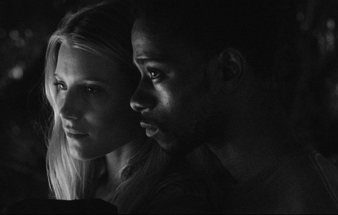 "Dree Hemingway and Keith Stanfield in ""Live Cargo"""
