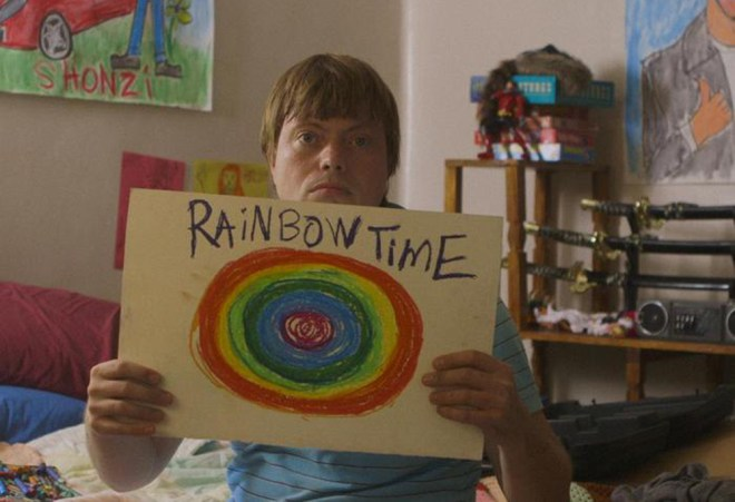 "Linas Phillips in ""Rainbow Time"""
