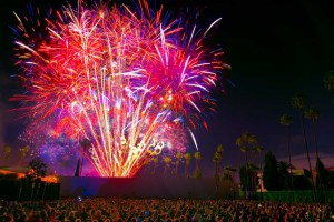 """4th of July Screening of """"Grease"""" at the Hollywood Forever Cemetery"""