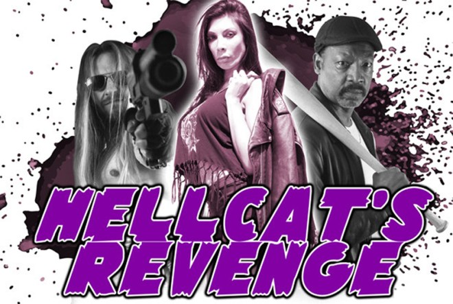 "Jasmin St. Claire in ""Hellcat's Revenge"""