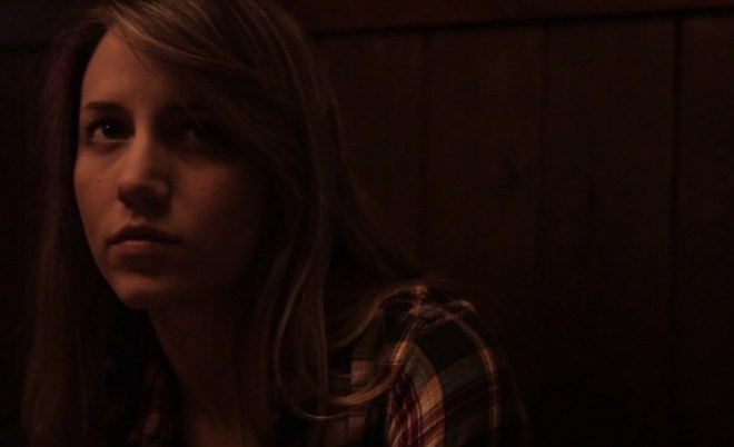 "Rebecca Weaver in ""June Falling Down"""