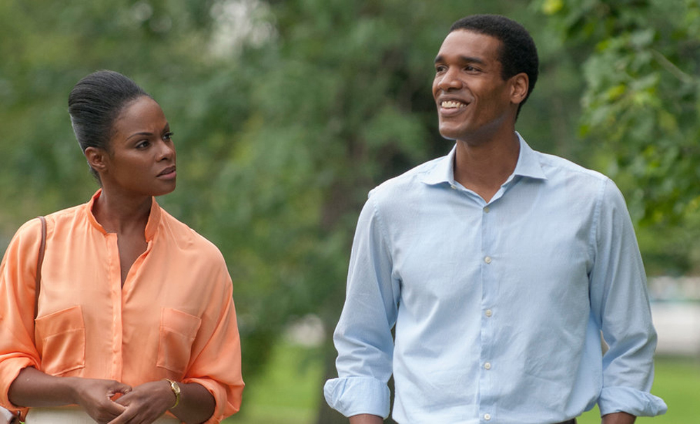 """Parker Sawyers and Tika Sumpter in """"Southside With You"""""""