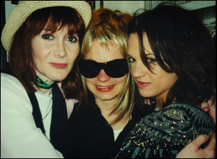 "Laura Albert, Savannah Knox as JT Leroy and Asia Argento in ""AUthor: The JT Leroy Story"""