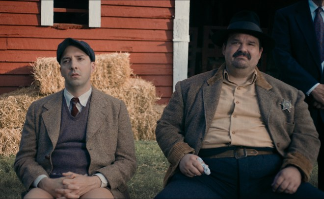 "Mel Rodriguez and Tony Hale in ""Brave New Jersey"""