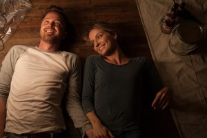 "Aaron Paul and Annabelle Wallis in ""Come and Find Me"""