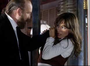 "Jim Beaver and Jocelin Donahue in ""The Frontier"""