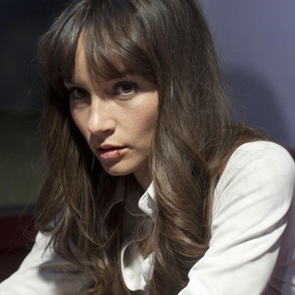 "Jocelin Donahue in ""The Frontier"""