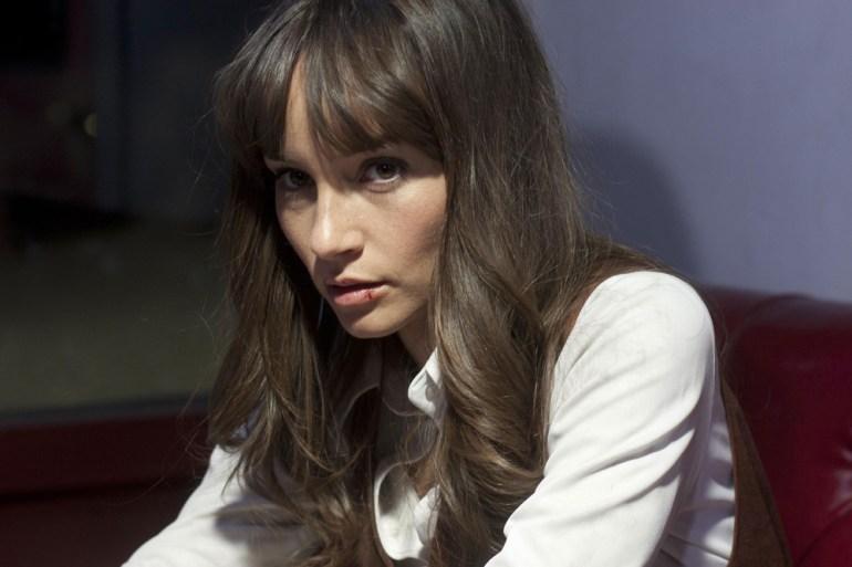 """Jocelin Donahue in """"The Frontier"""""""
