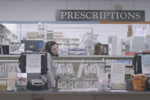 """A scene from Eve Marson's """"Dr. Feelgood"""""""