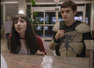 "Michael Johnston and Hannah Marks in ""Slash"""