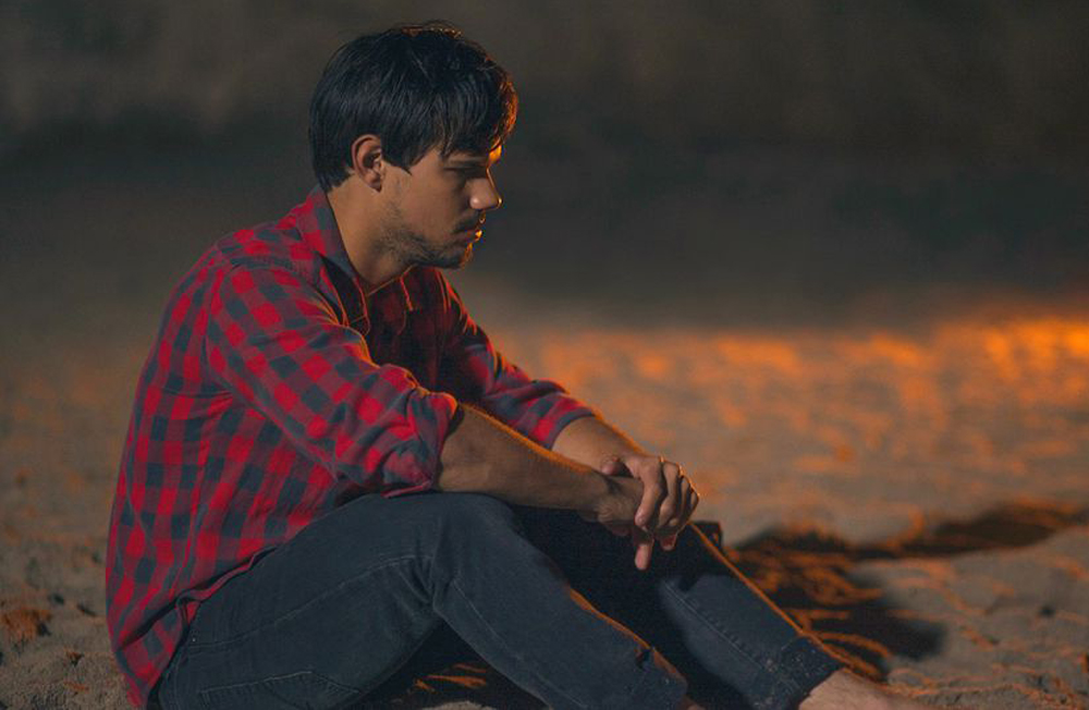 "Taylor Lautner in ""Run the Tide"""
