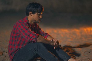 "Taylor Lautner in ""Run the Tide"""