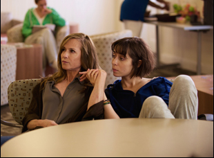 "Holly Hunter and Cristin Miliotti in ""Breakable You"""