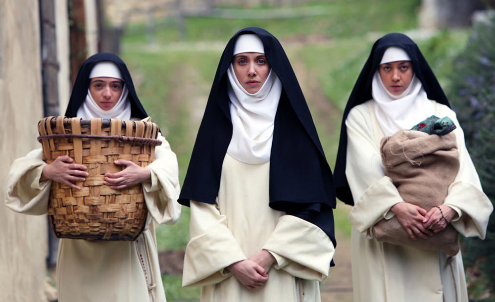 """Kate Micucci, Alison Brie and Aubrey Plaza in """"The Little Hours"""""""