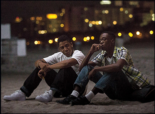 "Ashton Sanders and Jharrel Jerome in ""Moonlight"""