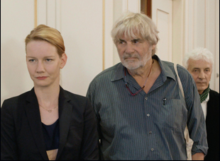 "Peter Simonischek and Sandra Huller in ""Toni Erdmann"""