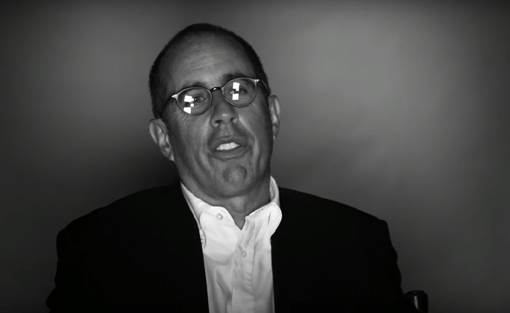 """Jerry Seinfeld in """"Dying Laughing"""""""