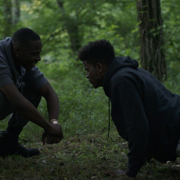 "Trevor Jackson in ""Burning Sands"""