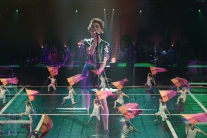 "St. Vincent in a scene from ""Contemporary Color"""