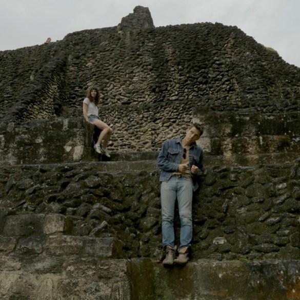 "Jessica Kaye and Daniel Ahearn in ""Inheritance"""