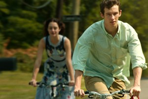 "Grace Van Patten and Callum Turner in ""Tramps"""