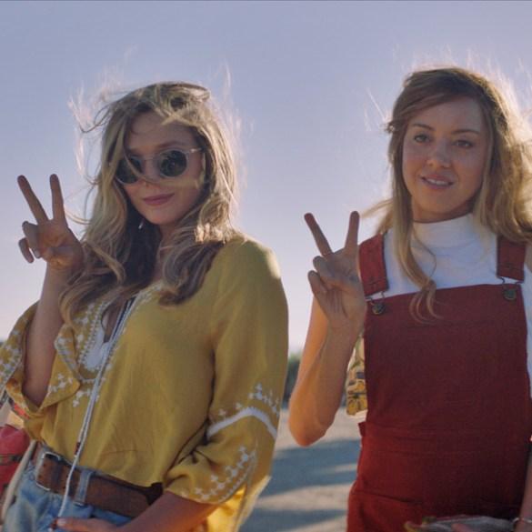 "Elizabeth Olsen and Aubrey Plaza in ""Ingrid Goes West"""