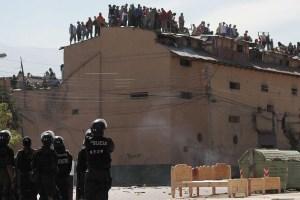 """A scene at the San Sebastian Prison in """"Cocaine Prison"""""""