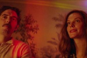"Damien Bonnard and Lindsay Burdge in ""Thirst Street"""