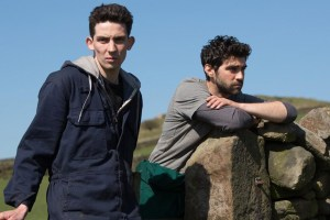 "Alec Secareanu and Josh O'Connor in ""God's Own Country"""