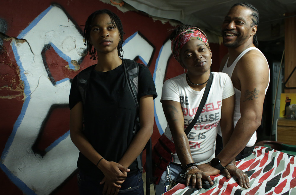 """PJ Rainey, Christopher Quest Rainey and Ma Rainey in """"Quest"""""""