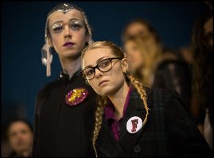 "Alex Lawther and AnnaSophia Robb in ""Freak Show"""