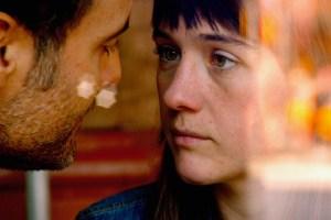 "Julie Sokolowski and Dominic Fumasa in ""Human Affairs"""