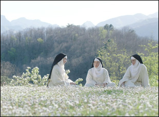 "A scene from Jeff Baena's ""The Little Hours"""