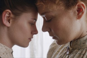 "Kristen Stewart and Chloe Sevigny in ""Lizzie"""