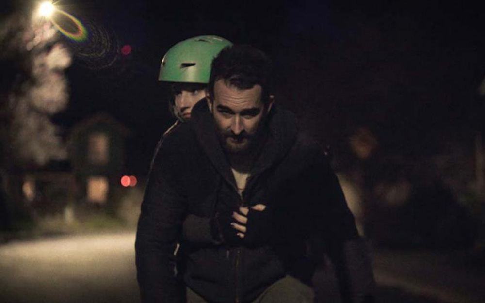 """Jay Duplass and Kaitlyn Dever in """"Outside In"""""""