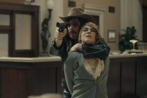 """Ethan Hawke and Noomi Rapace in """"Stockholm"""""""
