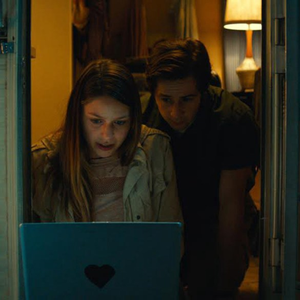 "Melissa Benoist and Michael Angarano in ""Sun Dogs"""