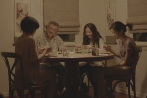 """Jim Lau, Michelle Ang, Elizabeth Sung, and Jennifer Soo in """"For Izzy"""""""