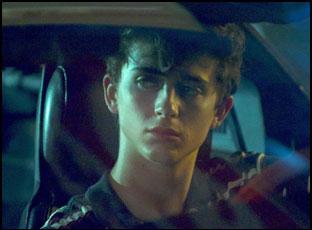 "Timothee Chalamet in ""Hot Summer Nights"""