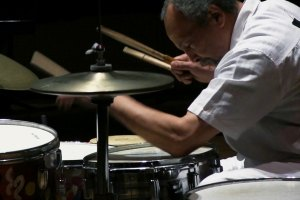 "Milford Graves in ""Milford Graves: Full Mantis"""