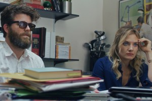 "Scott Rodgers and Kristin Slaysman in ""Dr. Brinks & Dr. Brinks"""
