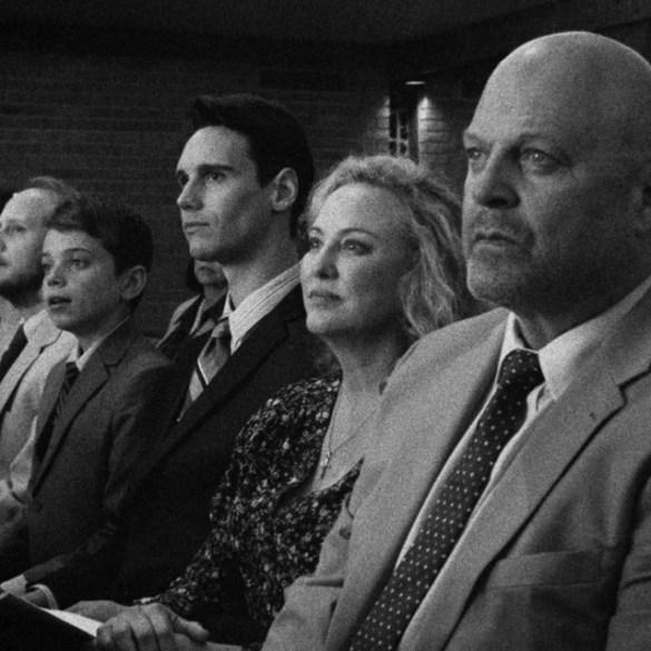 "Michael Chiklis, Virginia Madsen, Cory Michael Smith in ""1985"""