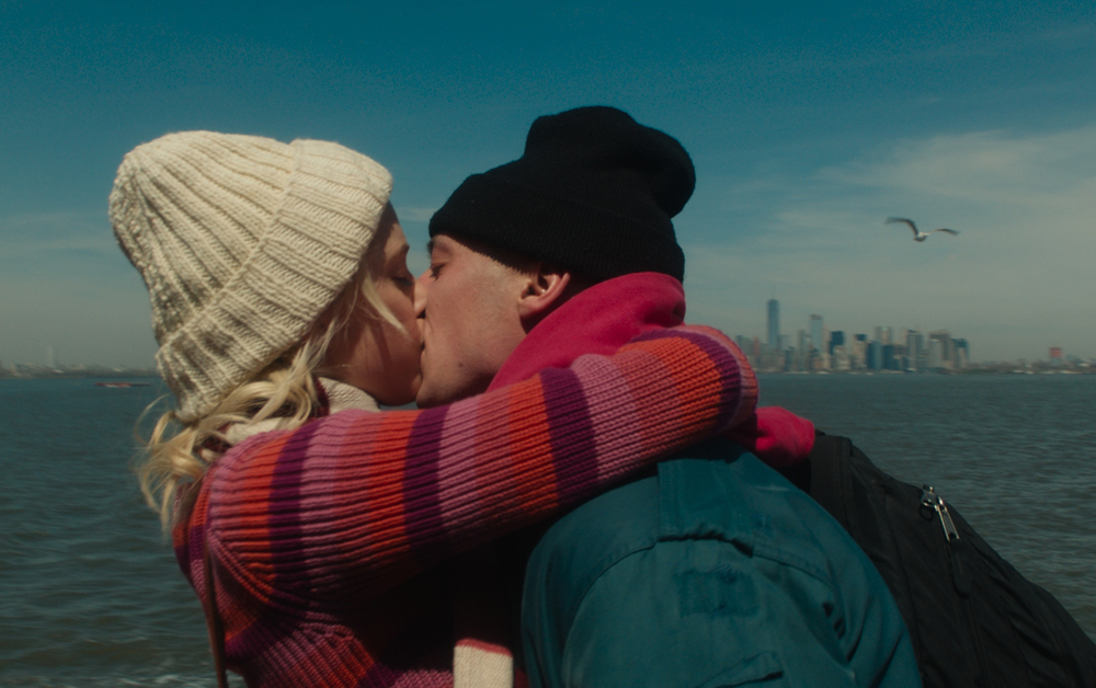 """Maika Monroe and Jeremy Allen White in """"After Everything"""""""
