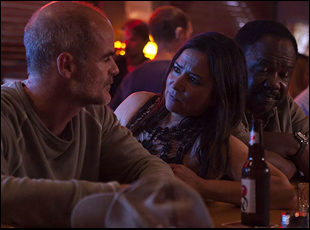 """Michael Kelly and Pamela Adlon in """"All Square"""""""