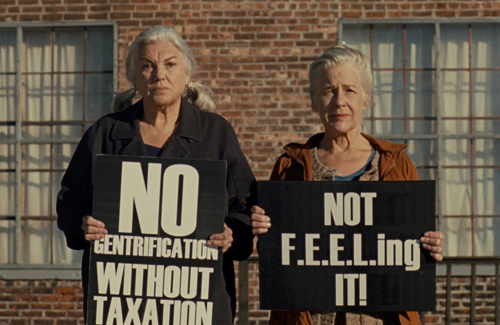"""Nana Visitor and Tyne Daly in """"A Bread Factory"""""""