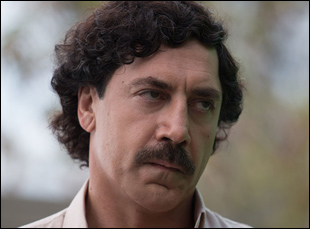 "Javier Bardem in ""Loving Pablo"""